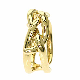 TIFFANY & Co. 18K Yellow Gold Double cross Ring TNN-2011