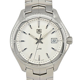 TAG HEUER Link WAT1111.BA0950 Silver Dial Quartz Men's Watch
