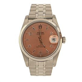 Tudor Prince Date Automatic Watch Stainless Steel 34
