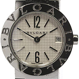 Bulgari BB23SS Stainless Steel Quartz Womens 23mm Watch