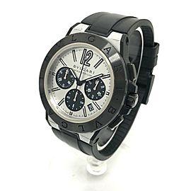 BVLGARI DG42SMCCH Diagono Magnesium Chronograph Wrist Watch