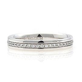 TIFFANY & Co. 18K white gold Diamond Metro Eternity Ring CHAT-943
