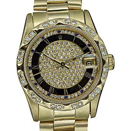 Rolex Datejust 68278 18K Yellow Gold with Champagne Dial Automatic 31mm Womens Watch