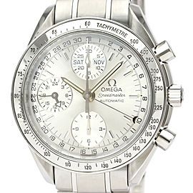 OMEGA Speedmaster Stainless steel Triple Date Automatic Watch