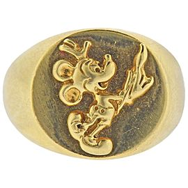 Walt Disney Gold Mickey Mouse Ring