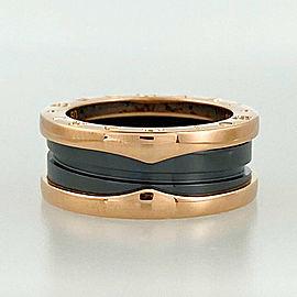 BVLGARI 18k Pink gold B-zero1 ring