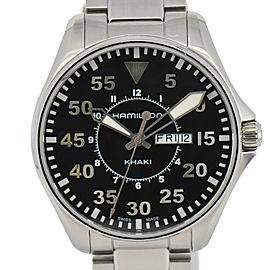 Hamilton Khaki Pilot H646110 Chronograph Day&Date Quartz Mens Watch