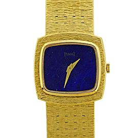 Piaget Gold Lapis Dial Watch