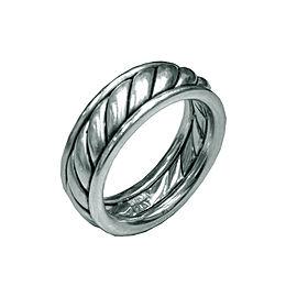 Scott Kay Platinum Mens Ring Size 11