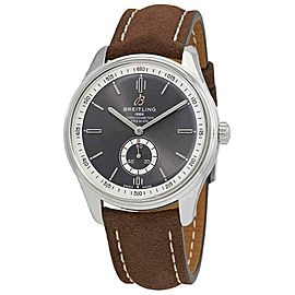 Breitling Premier 40MM Men's Brown Leather Watch