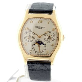 Patek Philippe Grand Complications 5040J Perpetual Calendar Moonphase 18K Yellow Gold Watch