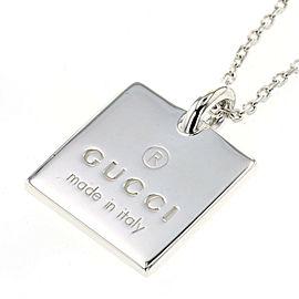 GUCCI 925 Silver Necklace TBRK-468