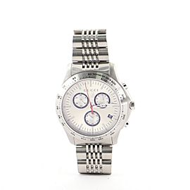 Gucci G-Timeless Chronograph Quartz Watch Stainless Steel 45
