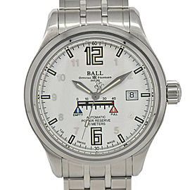 BALL WATCH Train master NM1056D-SAJ-WH White Dial Automatic Men's Watch