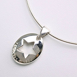 TIFFANY & Co Silver925 Star Necklace