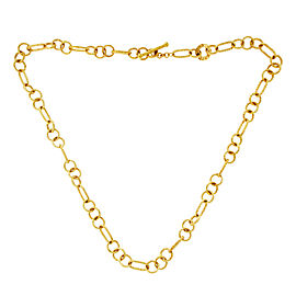 Roberto Coin 18K Yellow Gold Ruby Necklace