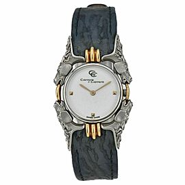 Carrera y Carrera Caballos 115 SS/18K/Leather Quartz Women's Watch