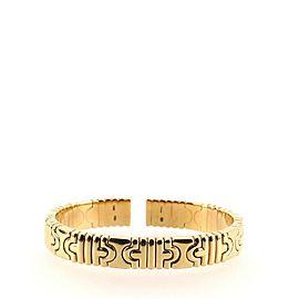 Bvlgari Vintage Parentesi Cuff Bracelet 18K Yellow Gold Narrow