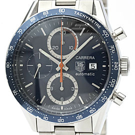 TAG HEUER Carrera Chronograph Steel Automatic Watch CV2015