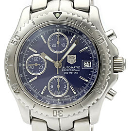 TAG HEUER Link Chronograph Steel Automatic Mens Watch CT2110
