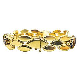 Gold, Citrine and Sapphire Bracelet, Tiffany & Co.