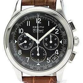 ZENITH Class El Primero Chronograph Steel Watch 01.0501.400