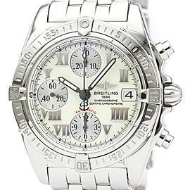 Polished BREITLING Stainless Steel Chrono Cockpit watch HK-2011