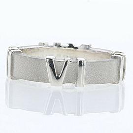 TIFFANY & Co 925 silver Atlas Narrow Ring