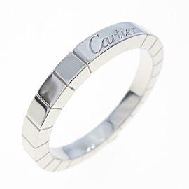Cartier 18K White Gold Lanieres ring TkM-255