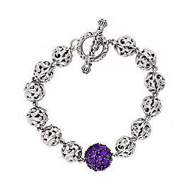 Mosaic Amethyst Bracelet