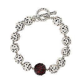 Mosaic Garnet Bracelet
