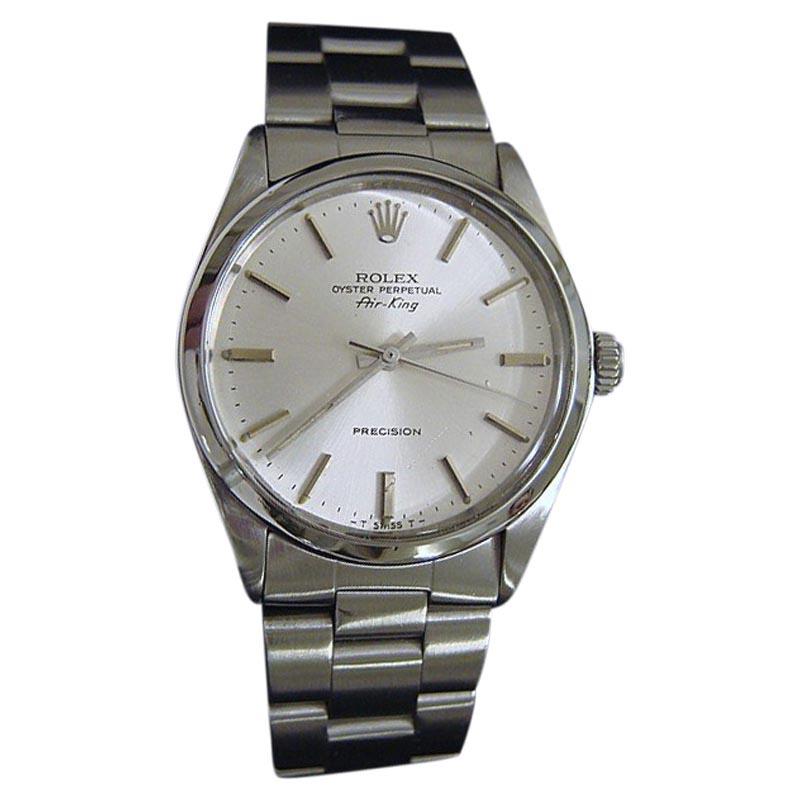 Rolex Air,King 5500 Vintage 36mm Mens Watch