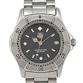 TAG HEUER Stainless Steel Professional 200 m Watch