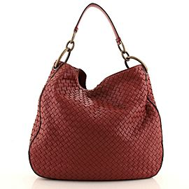 Bottega Veneta Loop Shoulder Bag Intrecciato Nappa Large