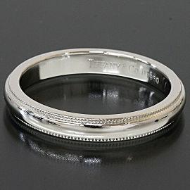 Tiffany & Co. Platinum Milgrain Wedding Band Ring TNN-1683