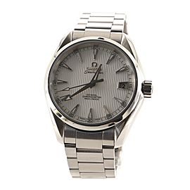 Omega Seamaster Aqua Terra 150M Co-Axial Chronometer Automatic Watch Stainless Steel 38