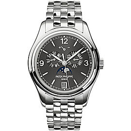 Patek Philippe 5146/1G-010 18K White Gold with Grey Dial 39mm Mens Watch