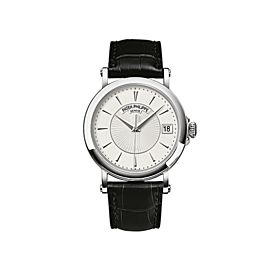 Patek Philippe 5153G 010 White Gold Men Calatrava Watch
