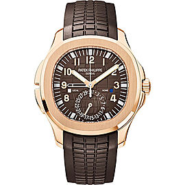 Patek Philippe Aquanaut 5164R 18K Rose Gold with Brown Dial Automatic 40.8mm Mens Watch