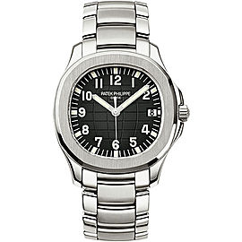 Patek Philippe Aquanaut 5167/1A Stainless Steel with Black Dial Automatic 40mm Mens Watch