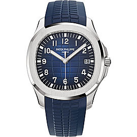 Patek Philippe Aquanaut 5168G.001 18K White Gold / Composite with Blue Dial Automatic 42.2mm Mens Watch