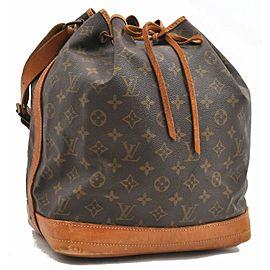 Louis Vuitton Monogram Noe Shoulder Bag M42224