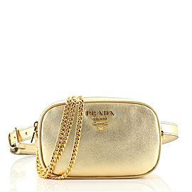 Prada Convertible Belt Bag Saffiano Leather Small