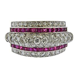 Platinum, Ruby and Diamond Band