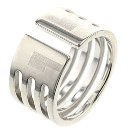 GUCCI Silver925 Anniversary GG Ring TBRK-507