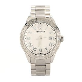 Versace Daphnis Date Quartz Watch Stainless Steel 41