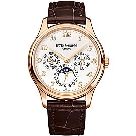 Patek Philippe 5327R 18K Rose Gold with Ivory Lacquered Dial Automatic 39mm Mens Watch
