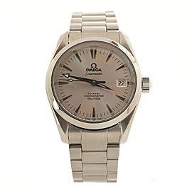 Omega Seamaster Aqua Terra Chronometer Automatic Watch Stainless Steel 36