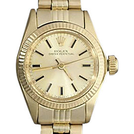 Rolex Lady Oyster Perpetual 6719 25mm Womens Watch