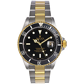 Rolex Submariner 16613 Stainless Steel and 18K Yellow Gold 40mm Mens Watch